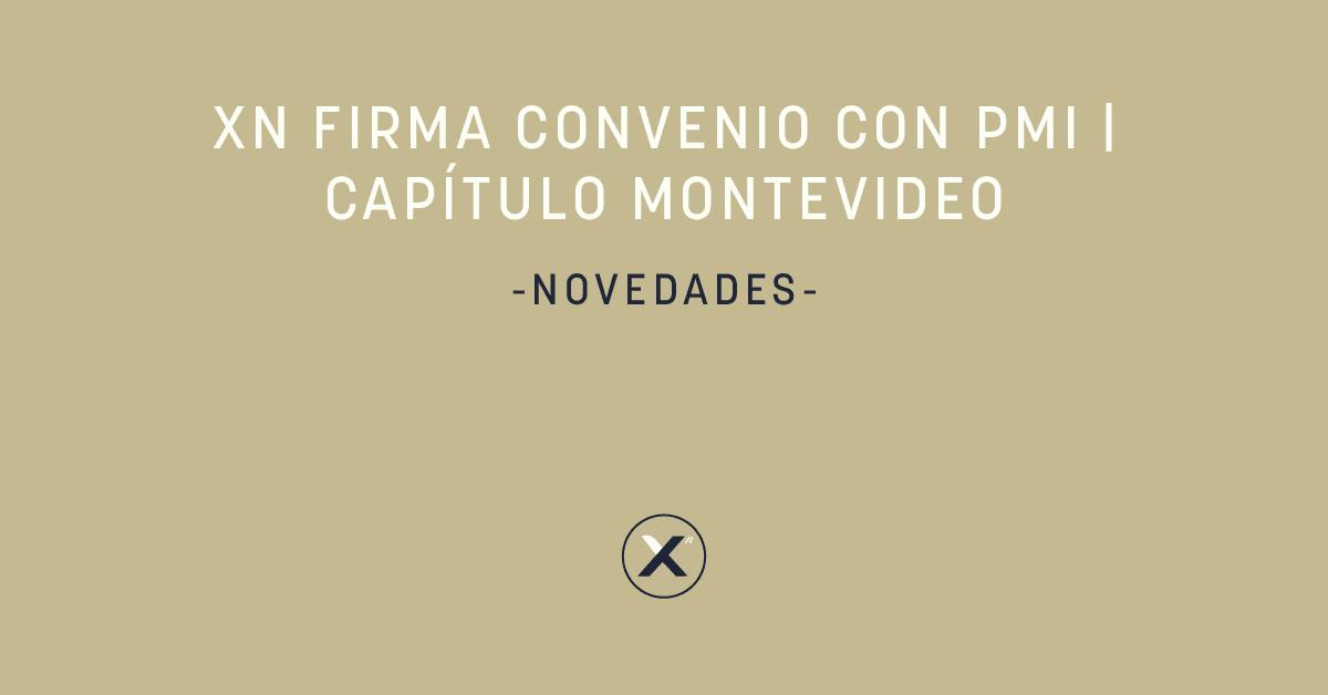 Xn firma convenio con PMI   Capítulo Montevideo - cover