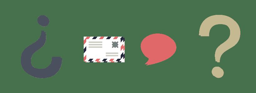 Signos de interrogación y por qué nos comunicamos