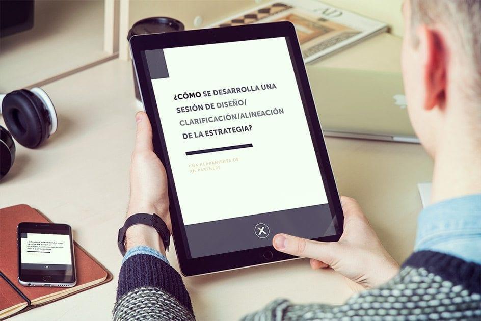 E-book Estrategia Mockup