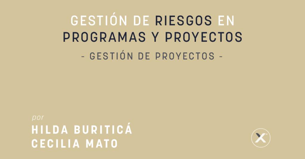 Como Gestionar los Riesgos en Proyectos y Programas - Project Management