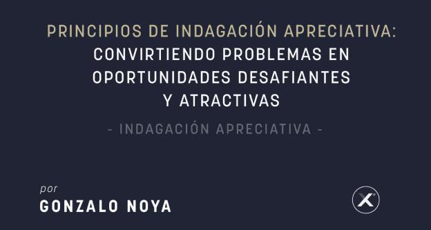 Principios de Indagacion Apreciativa - Convirtiendo Problmas en oportunidades desafiantes y atractivas
