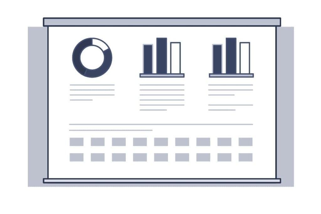 Imágen de charts para medir el clima organizacional