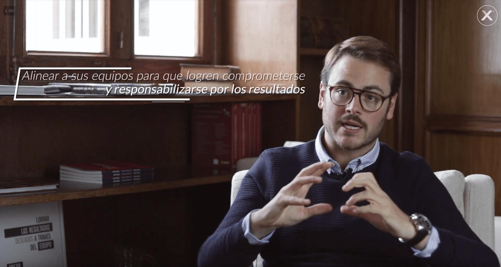 Ignacio Guarnieri Explicando sobre el Taller Alinear la Estrategia - cover de Youtube
